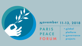 IN A HUNDRED DAYS, COME TAKE PART IN THE FIRST PARIS PEACE FORUM!