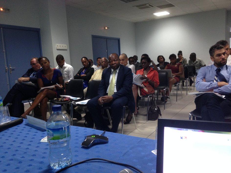 Participation de l ambassadeur eric de la moussaye un for Chambre de commerce martinique